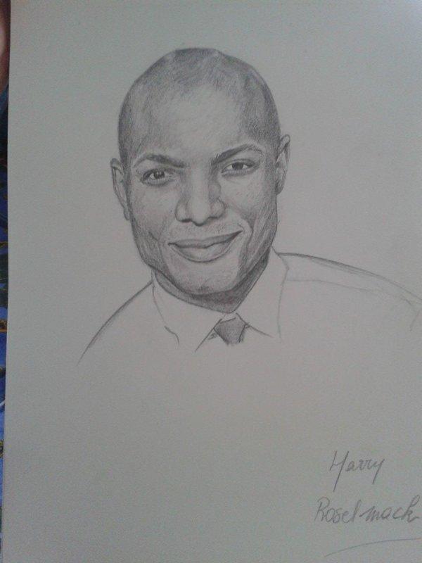 Portrait rapide Harry Roselmack