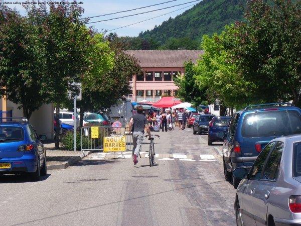 Le marché aux PUCES de RUPT sur moselle le 5 Juin 2011