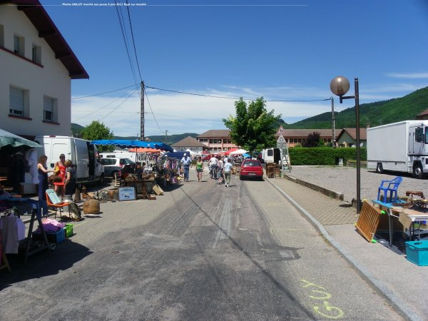 Marché aux puces de la commune de RUPT sur moselle le dimanche 05 juin 2011