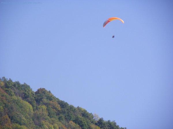 Le parapentiste du ménil vol libre