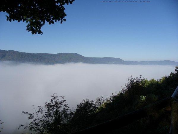 RUPT SUR MOSELLE dans le brouillard ce 01 / 10 / 2011