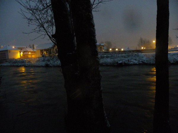 La moselle en hiver
