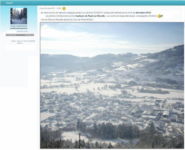 Discutions et photos de rupt sur moselle sur des forums