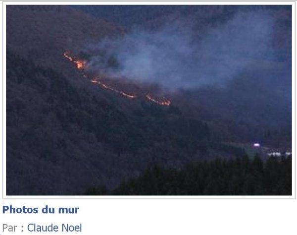 L'incendie semble etre metrisé a cet heure ci d apres des infos sur les reseaux sociaux