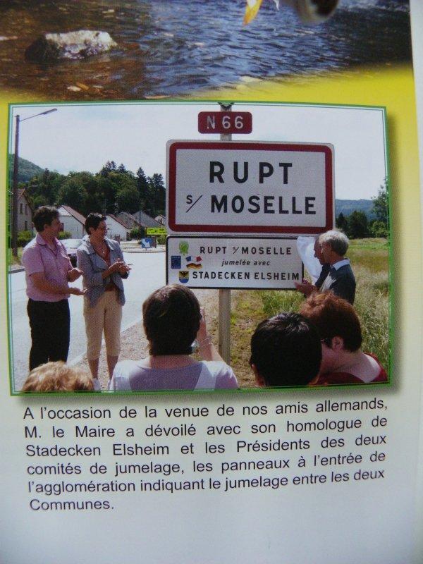 Bulletin Municipal 2012 de rupt sur moselle