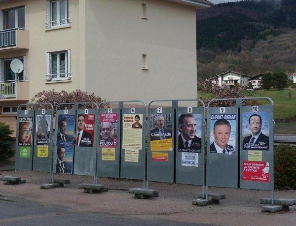 ELECTION CE DIMANCHE 22 AVRIL 2012