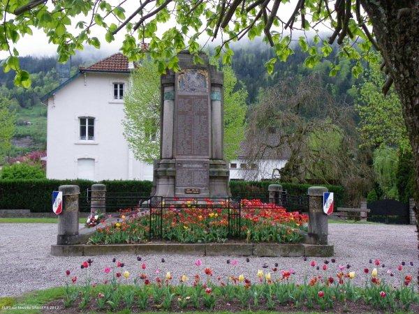 lLe monument aux morts de rupt