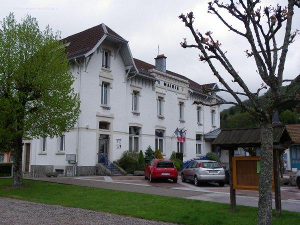 La mairie de RUPT sur moselle
