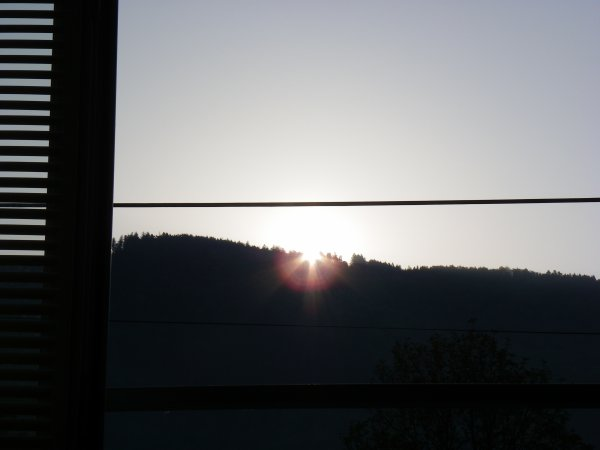 Le soleil se lève à RUPT