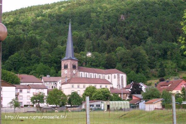 Eglise saint étienne de rupt sur moselle