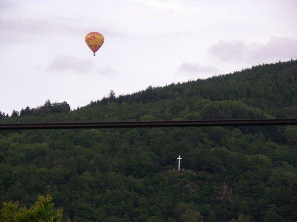 Survole des montgolfières à rupt sur moselle