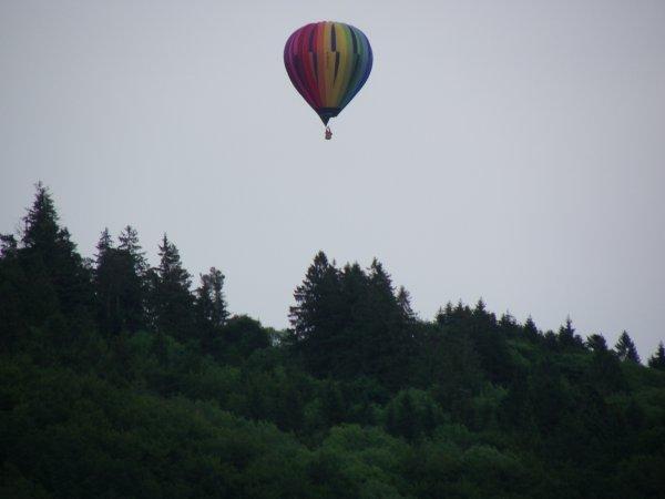 Des montgolfières survole rupt sur moselle