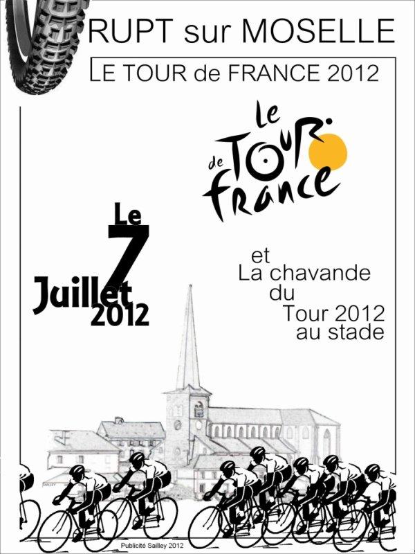 TOUR DE FRANCE  à RUPT SUR MOSELLE