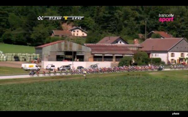 Cyclisme du samedi 07 juillet 2012 à 14h50 sur France2