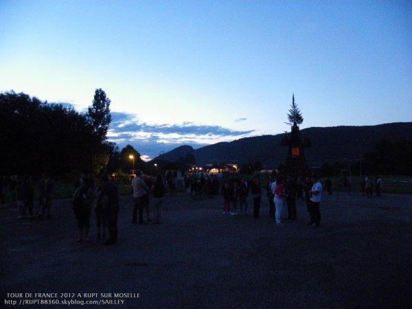 Votre soirée du tour 2012