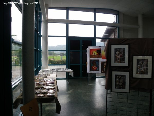 Exposition peintures 2012 à RUPT sur Moselle