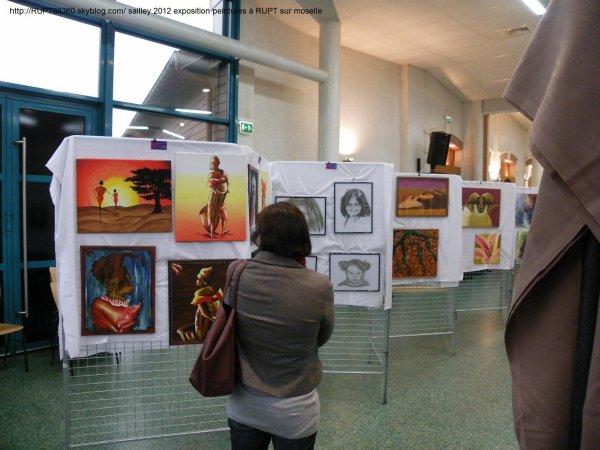 Exposition peinture 2012 à RUPT sur moselle