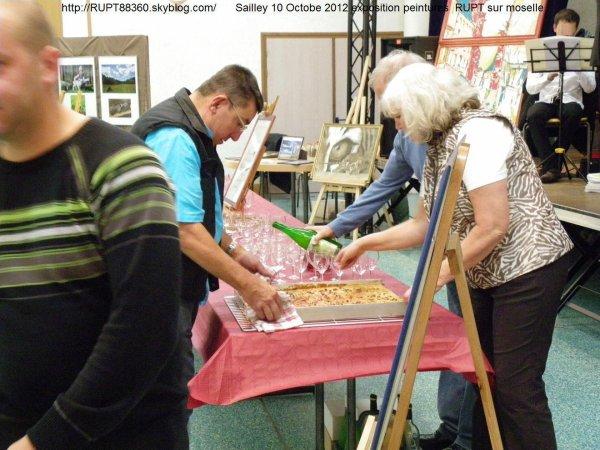 Exposition de peintures et scultures à RUPT / moselle