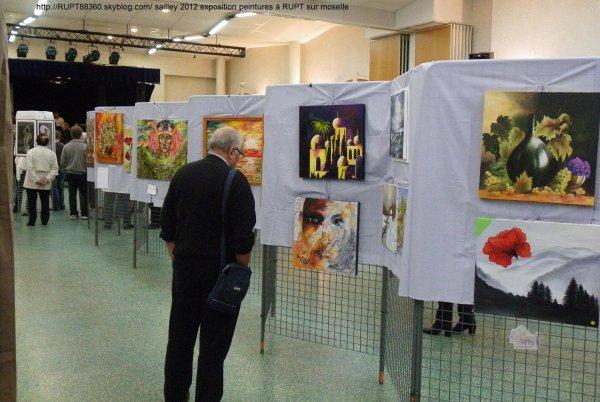Journées exposition peintures et scultures 2012 à RUPT /moselle