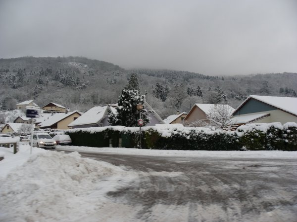L'hiver est la !