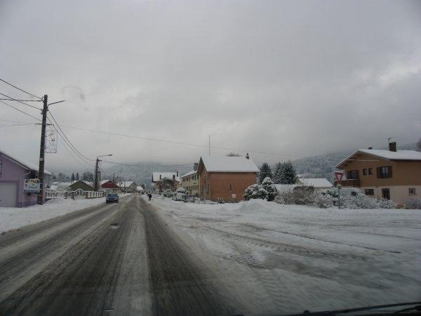 En décembre 2012 vers la gendarmerie