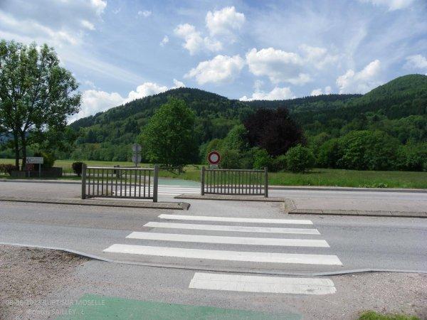 Passage pour les cyclistes