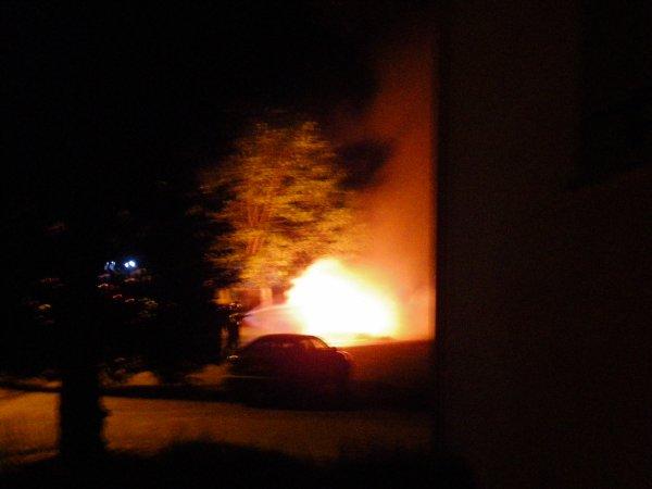 voila en plein jour les dégats apres l'incendie survenu cette nuit vers 2h00 au riifin