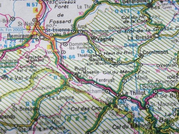 Localisation de RUPT sur moselle (88)