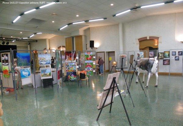 EXPO PEINTURE AU SOCIO DE RUPT SUR MOSELLE