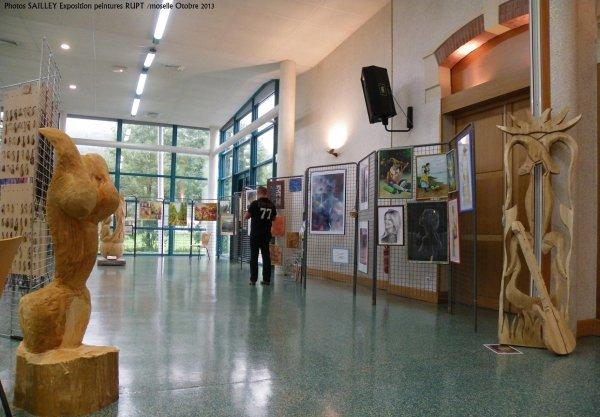 ART ET PEINTURES A RUPT SUR MOSELLE CE WEEK END