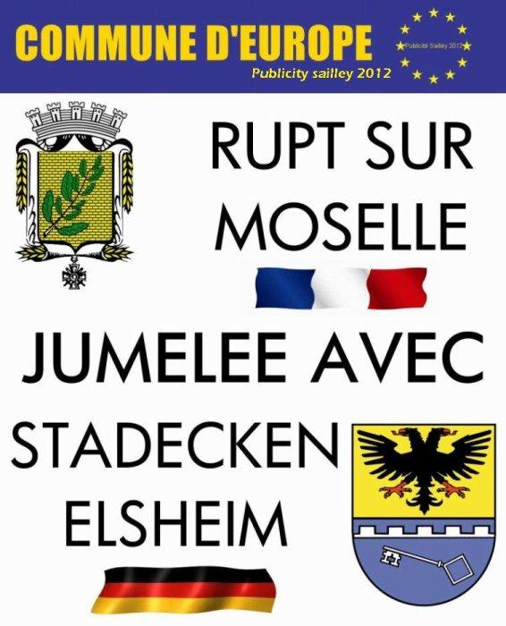 RUPT sur moselle et Stadecken-Elsheim
