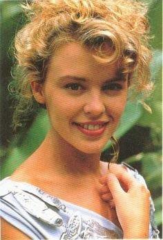 Kylie Minogue dans les années 80