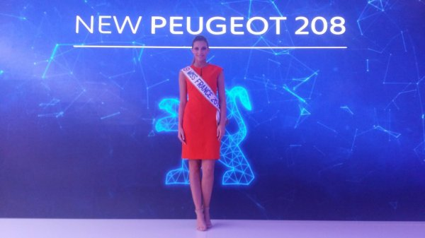 Miss France 2015 - Camille Cerf