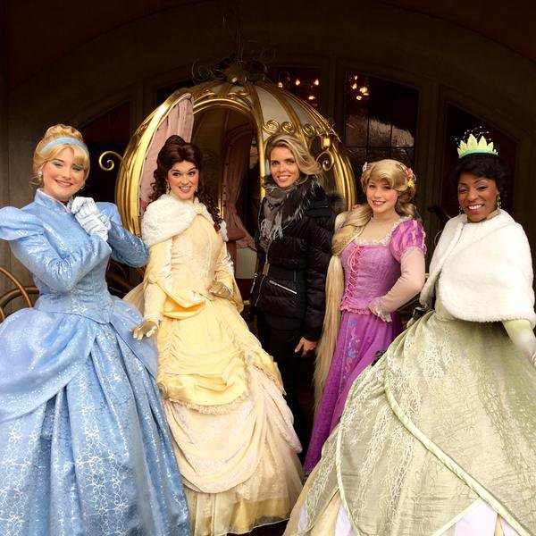 Shooting photo dans la suite de Cendrillon a Disneyland