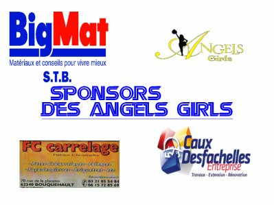 sponsors des Angels girls