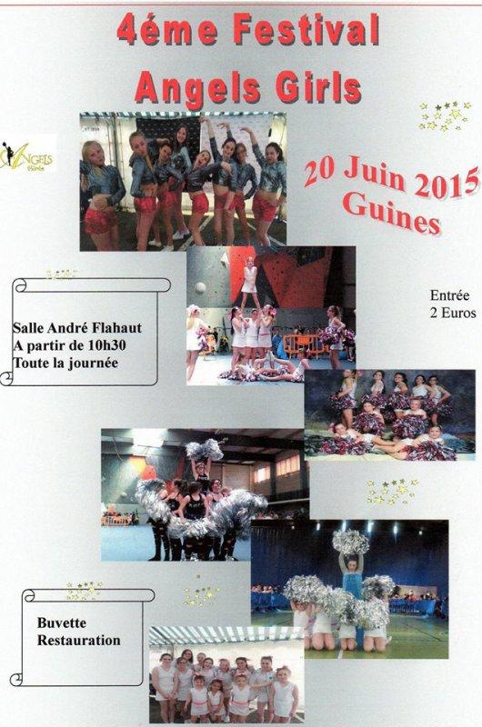 festival le 20 juin 2015 des angels girls de guines
