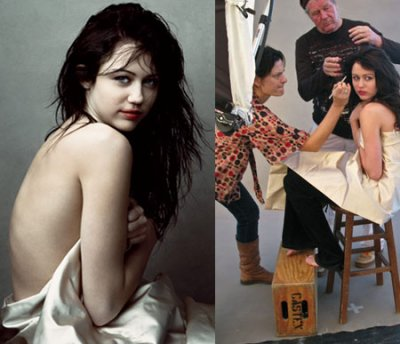 Scandales De Miley (Partie 1) - Polémique autour de certaines photos