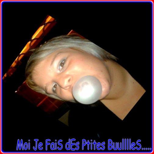 """"""" Moi je fais des petites bulles , Des belles bulles que j'crache en l'air, Elles sont si belles, vole jusqu'au ciel, Comme dans mes rêves a la fin elles crevent, Ou se cache donc la chance, sa me met en trance,Moi je fais des petites bulles, Des belles bulles que je crache en l'air, UNITED UNITED  UNITED !!!!!!"""