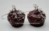 Boucles-d'oreilles Muffins au chocolat