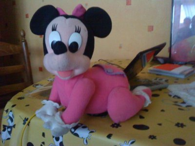 minnie bb troteuse