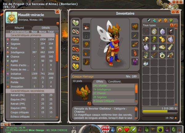 Maudit-miracle: eniripsa level 191