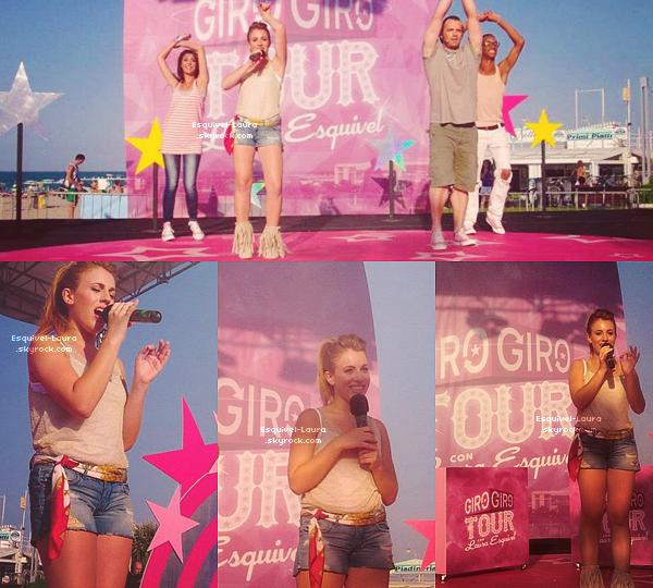 29 Juillet 2012  : Notre belle Laura Esquivel a donné son dernier concert en Italie.