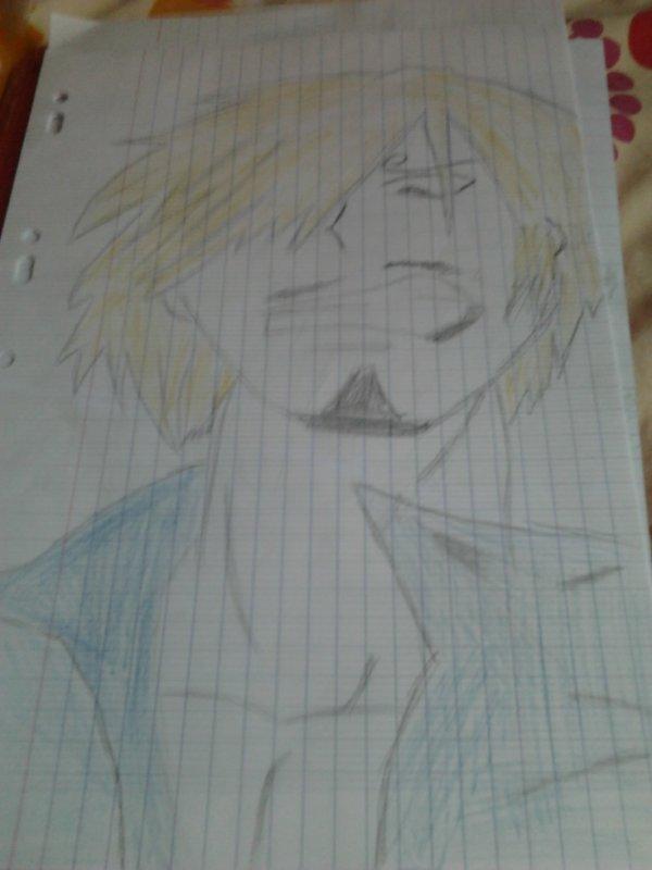 dessin de sanji