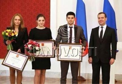 Certificat d'honneur pour les russes !