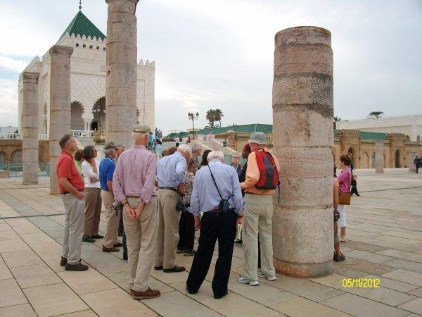 Mausolée Mohamed V et Tour Hassan à Rabat