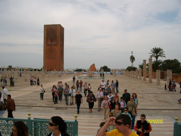 Mausolée Mohamed V et Tour Hassan archive 3