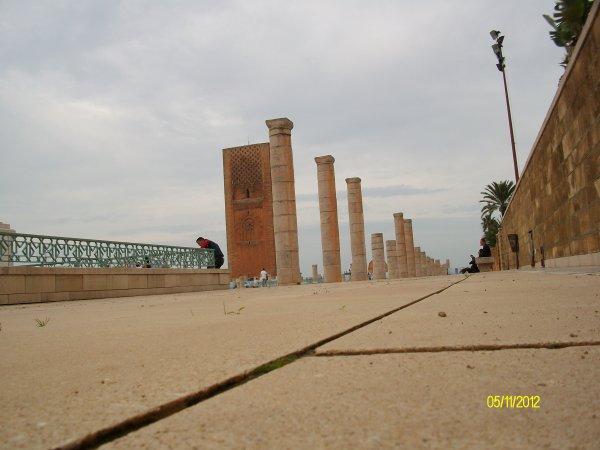 Mausolée Mohamed V et Tour HAssan archive 4