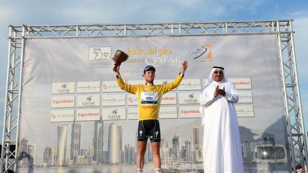 Tour du Qatar : quatre étapes et maillot Or final pour Mark Cavendish