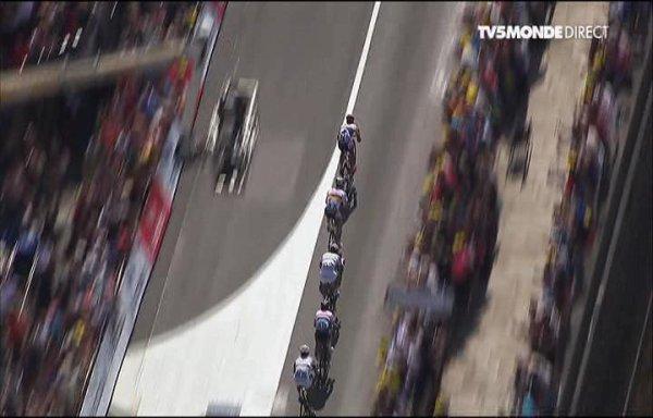 Cavendish à l'arrivée du 10 ème étape