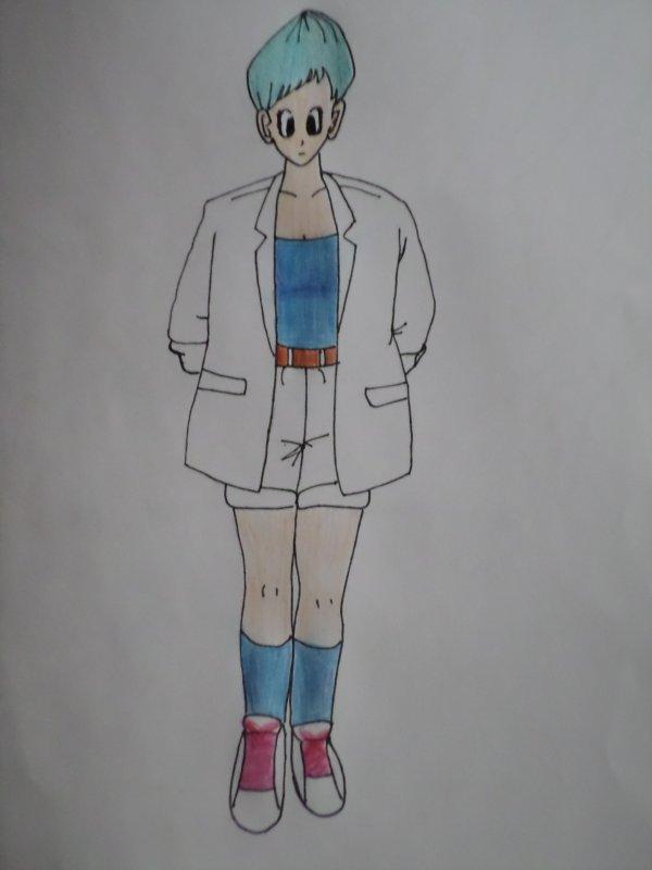 Un de mes dessins: Bulma